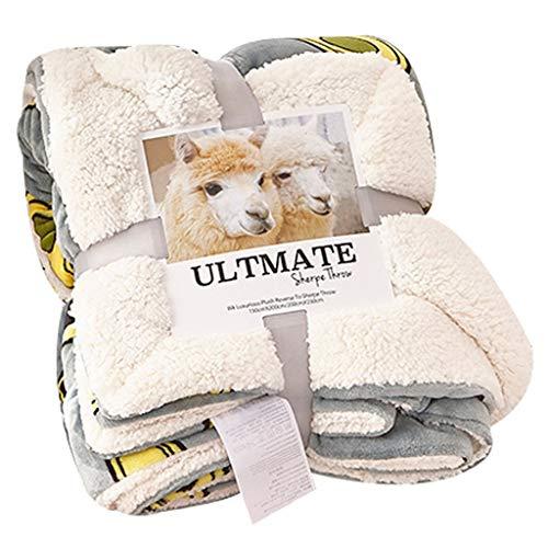 Blanket Manta de forro polar suave de lujo, suave y mullida de alta calidad para sofá, silla, oficina, viajes, camping, decoración del hogar (tamaño: 200 x 230 cm)