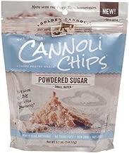 Golden Cannoli Powdered Sugar Cannoli Chips 5.1 oz (Pack of 4)