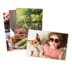 Amazon Photos provides high-quality custom prints that are made to order especially for you. Accurate color representation whether you choose glossy or matte finish. Glossy prints have a reflective quality, while matte prints have a flat finish with ...