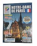 LA BOUTIQUE A Monter Puzzle 3D Notre Dame DE Paris en Carton Rigide Réf: NDP