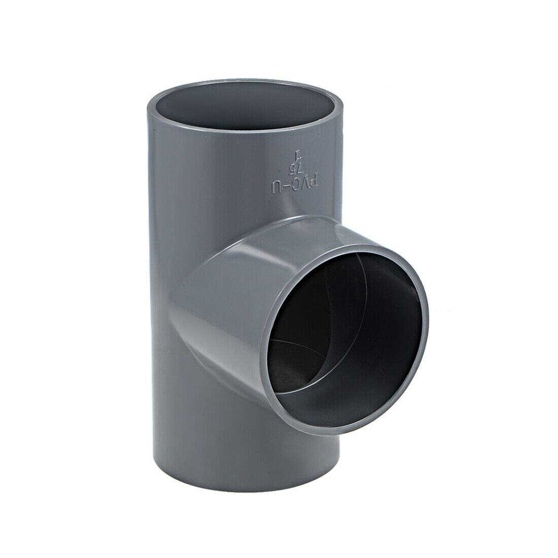 Pipe Fittings PVC Fitting Co Low Super sale period limited price 75mm Socket Tee