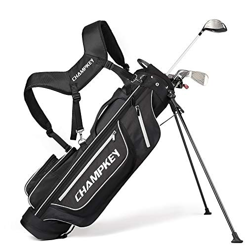 Champkey PRO Lightweight Golf Stand Bag - Easy to Carry & Durable Pitch...