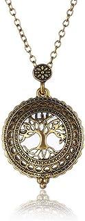 ZLININ Y-longhair - Mini collana con ciondolo a forma di albero 2,5 x HD, per lettura di libri, identificazione dei gioiel...