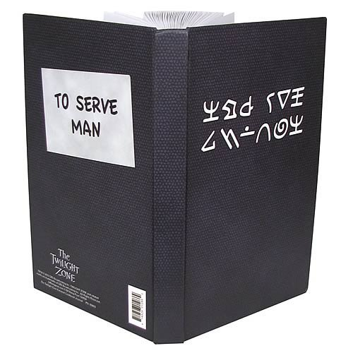 The Twilight Zone Kanamit Serve Man Cook Book