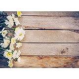 Accesorios de Fondo de fotografía de Vinilo tablón de Flores Accesorios de Fondo de Estudio fotográfico Fondo de fotografía de Boda A9 5x3ft / 1.5x1m