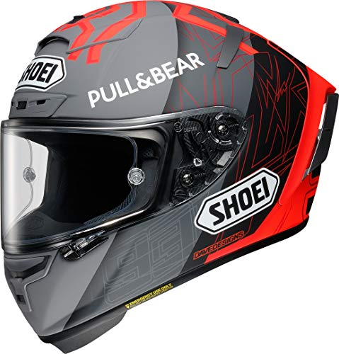 Shoei X-Spirit III Marquez Black Concept 2.0 TC-1 Motorradhelm Racing Helm Matt, L