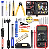 ETEPON Soldering Iron 30 Pieces, Complete Soldering Kit for Soldering Jobs, Electrical, Jewelry ET007