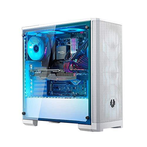 BitFenix Nova Mesh Tg White Case BFC-NVM-300-WWGKW-RP EATX/ATX/Micro ATX/Mini ITX Tempered Glass/Aura Sync RGB Fan