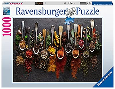 RAVENSBURGER Puzzle 88550 Spices from Around The World 1000 Pieces by Ravensburger