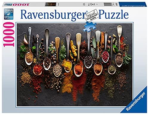 Ravensburger Puzzle, Puzzle 1000 Pezzi, Spezie da Tutto il Mondo, Puzzle per Adulti, Jigsaw Puzzle, Puzzle Ravensburger - Stampa di Alta Qualità, Esclusivo Amazon