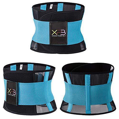 HSCDQ Cinturón de Soporte Lumbar Cinturón de Cintura Fitness Ejercicio Protección de la Postura Dispositivo de corrección Pulta Dispositivo de Entrenamiento de reducción exc.tq