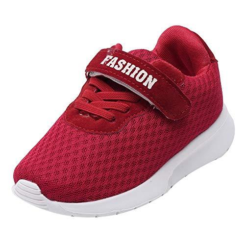 Babyschuhe, LANSKIRT Sportschuhe Kid Baby Jungen Mädchen Brief Schuhe Sport Lauf Atmungsaktiv Mesh Sneaker FreizeitschuheLauflernschuhe Krabbelschuhe