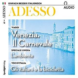 ADESSO Audio - Venezia: Il carnevale. 2/2018 Titelbild