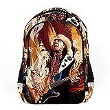 Ray Vaughan adecuado para adultos, niños, adolescentes, niños, niñas y mochilas de moda