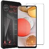 Conie® Bildschirmfolie für Samsung Galaxy A32 5G, Tempered Glass verstärkte Panzerglas Folie 9H Panzerfolie Gorilla Glasfolie, Galaxy A32 5G Bildschirmschutzfolie Klar