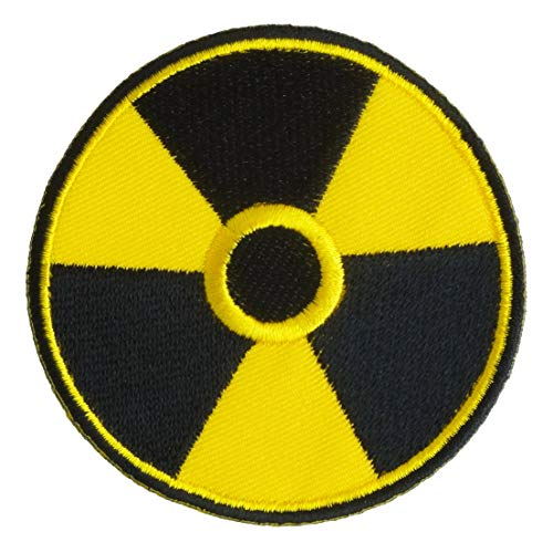Graphic Dust Nuclear Radiation Biohazard Zombie Virus Outbreak Embroidered Iron on Patch Logo Sign Costume Cosplay Game Virus Umbrella Corporation S.T.A.R.S. Police Badge Star Raccoon Resident Evil