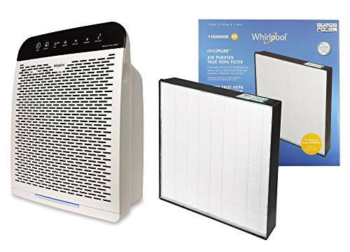 Whirlpool Whispure WPPRO2000 & Extra Genuine HEPA Replacement Filter Set, Air Purifier for Large Room - Doctor