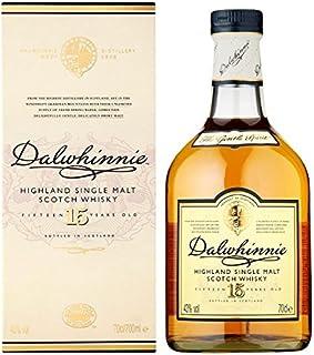 Dalwhinnie 15 Jahre alter Highland Single Malt Scotch Whisky 70 cl Packung mit 70 cl