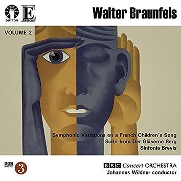 Braunfels: Symphonic Variations / Sinfonia Brevis