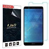 J&D Compatible pour Huawei Mate 10 Pro Protection écran (8-Pack), Non Couverture Complète...
