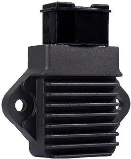 Spannungsregler Gleichrichter, Schwarz Motorrad 12V Spannungsstabilisator Gleichrichter CBR250 / CBR400 Gleichrichter