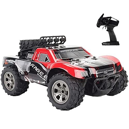 HKX 1/18 2WD rueda grande RC coche corto camión modelo juguete adulto niño regalo cumpleaños (regalo de cumpleaños de día festivo)