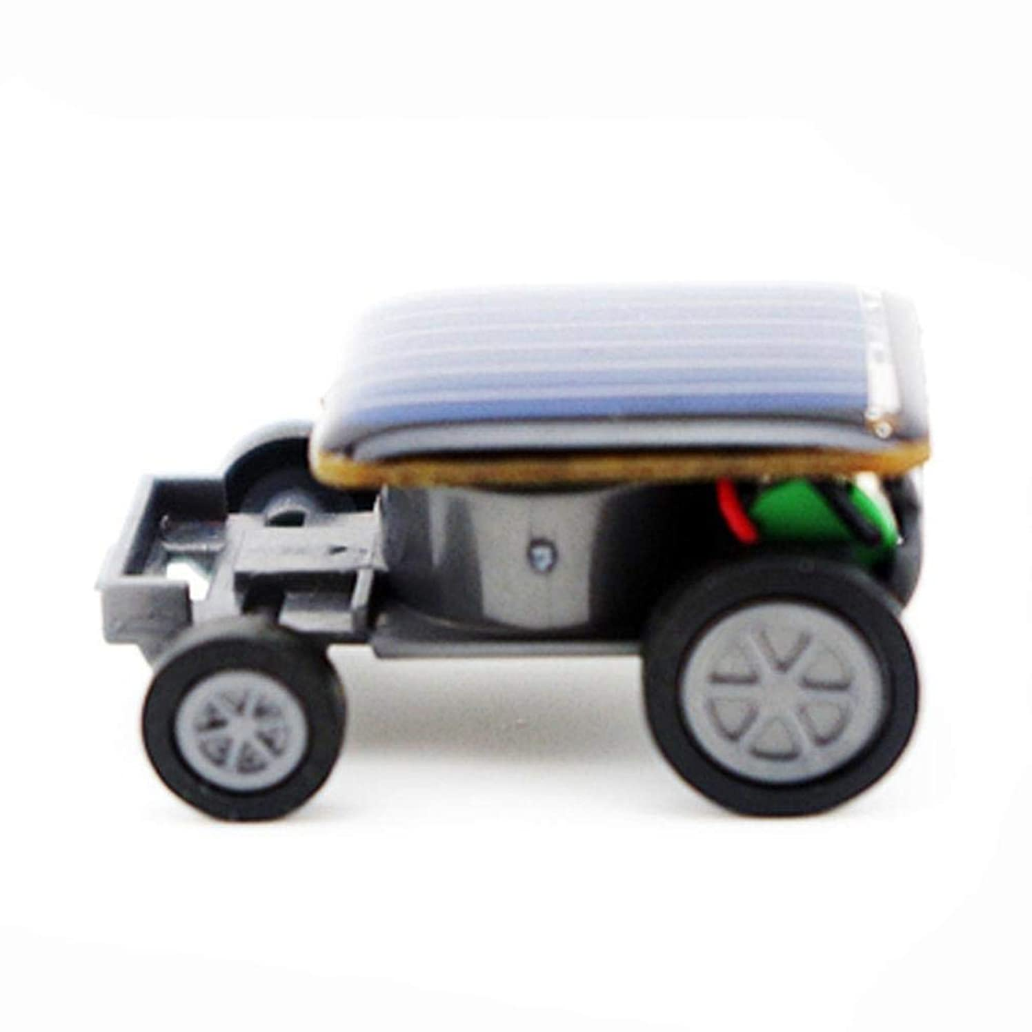 Cinhent Toys, 33 x 22 x 14MM Educational Smallest Solar Power Mini Toy Car Racer Solar Powered Toy, Creative Activity Gifts - Science Experiment Car Kids, Teens Adults