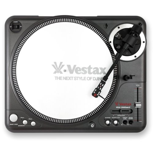 Vestax ターンテーブル PDX-3000MK2 ダイレクトドライブ MIDI入力/トルクシュミレーター機能搭載