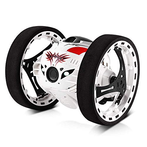 FairOnly 2.4 GHz Wireless Remote Control Jumping RC Toy Car Bounce Car per Bambini Ragazzi Regalo di Compleanno di Natale