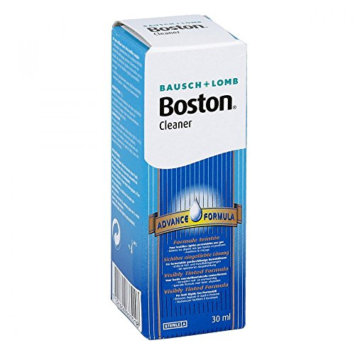 Boston Cleaner für Kontaktlinsen Reinigungslösung, 30 ml Lösung