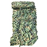 Malla de camuflaje de bosque persianas camuflaje Net para Camping Caza Protector solar de uso pesado mitef 3x3m 1pack