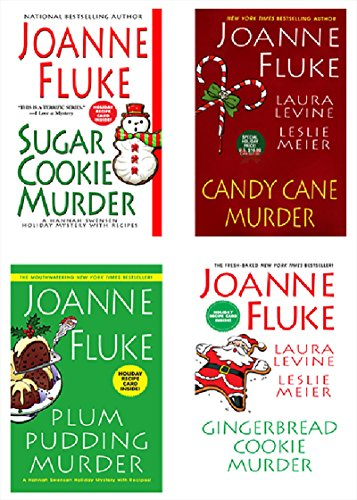 Joanne Fluke Christmas Bundle: Sugar Cookie Murder, Candy Cane Murder, Plum Pudding Murder, & Gingerbread Cookie Murder (A Hannah Swensen Mystery)