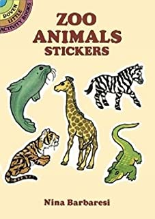 Zoo Animals Stickers: Dover Little Activity Books
