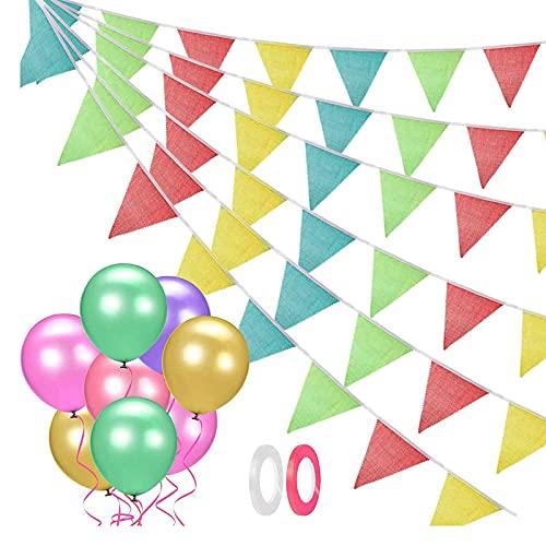 Babyhelen Addobbi Compleanno 42 Pezzi Bandierine...