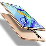 X-level für Huawei P30 Hülle, [Guardian Serie] Soft Flex Silikon Premium TPU Echtes Handygefühl Handyhülle Schutzhülle Kompatibel mit Huawei P30 6,1 Zoll Hülle Cover - Gold