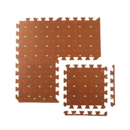 Shop-PEJ Suave 16pcs Espuma de Espuma alfombras de Garra EVA Puzzle Toys para niños niños Soft Floor Play Mat Interlaling Ejercicio Azulejos Gimnasio Juego Mats Alfombra Decoración Hogar