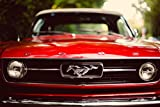 Inspired Walls Ford Mustang Vintage Auto Giant