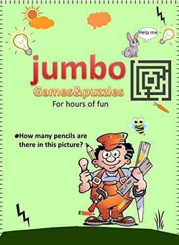 jumbo: (games&puzzles) (English Edition)