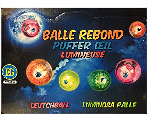 Balle lumineuse yeux