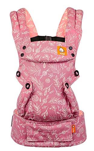 Baby Tula Explore - BLOOM - Marsupio regolabile per neonati e bambini, ergonomico, varie posizioni per 3,2-20,4 kg