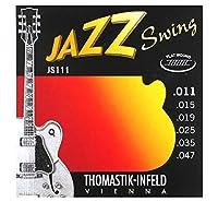 [Thomastik-Infeld] Jazz Swing JS111 (.011-.047) プレーン弦2本追加セット