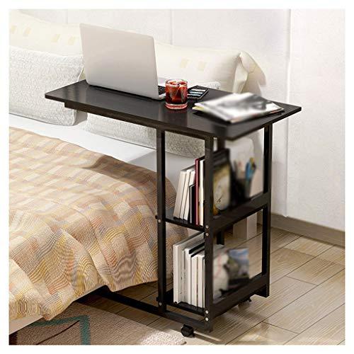 LDG tafel, bed, draagbaar, bureau, computer, dun, tafel, sofa, draagbaar, rolling, ziekenhuis met wieltjes met legplanken, voor thuis en op kantoor
