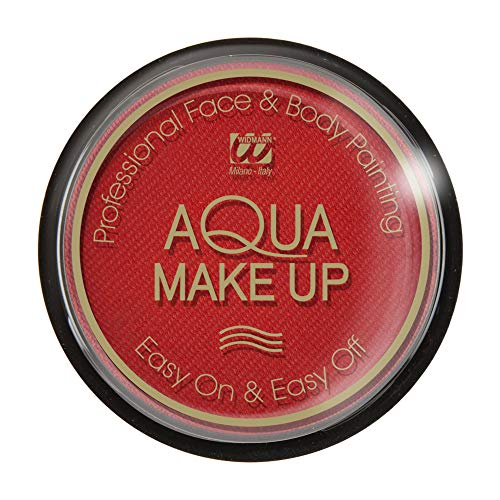 Widmann Aqua Makeup, Couleur Rouge, 004.wd9233d