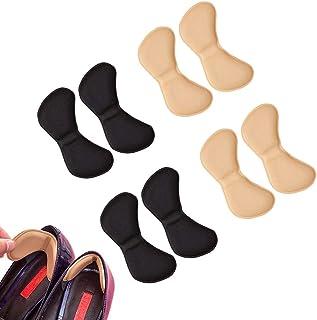 EQLEF® 4 pares talón de las plantillas del zapato evitar