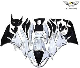 NT FAIRING White Black Fairing Fit for KAWASAKI NINJA 2009-2012 ZX6R 636 New Injection Mold ABS Plastics Bodywork Body Kit Bodyframe Body Work 2010 2011 09 10 11 12 ZX-6R