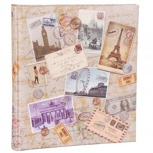 Quantio HENZO Fotoalbum City Travel - 60 Seiten - Bilderalbum - Jumboalbum - Album - Urlaubsalbum - Reisealbum