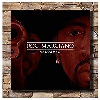 ロックマルチャーノキャンバスポスターアートプリント2021カバーリローデッドミュージックアルバム部屋の装飾リビングルームの装飾キャンバスに印刷60x60cmフレームなし