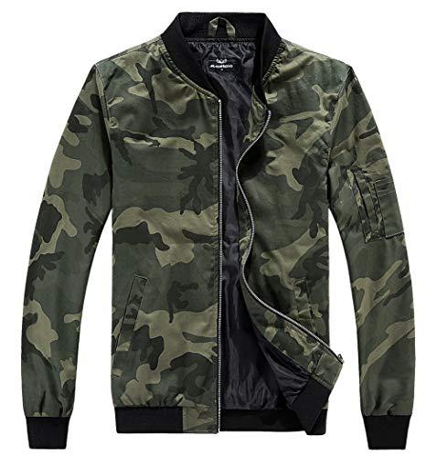 Bomber Jacket Camo Men