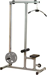 body solid plate loaded lat machine