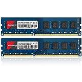 Kuesuny Módulo de memoria RAM de 16 GB (2 x 8 GB) DDR3 1600 MHz Udimm Ram PC3-12800 PC3-12800U 1,5 V CL11 240 pines 2RX8 de rango dual sin ECC sin búfer para ordenador de sobremesa
